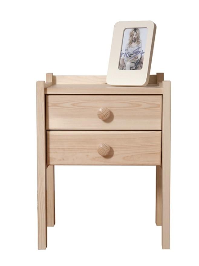 MAGNAT Noční stolek IDA, masiv borovice, moření: ...