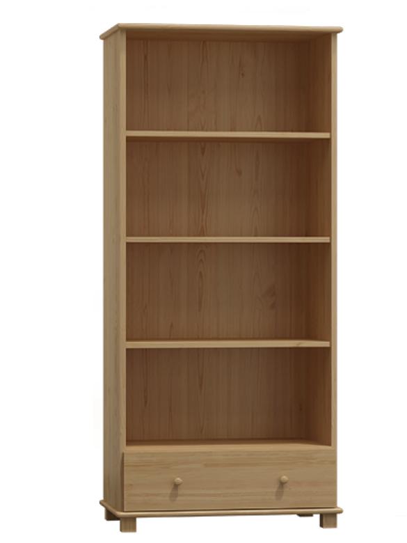 MAGNAT Knihovna nr.7, masiv borovice, moření: ...