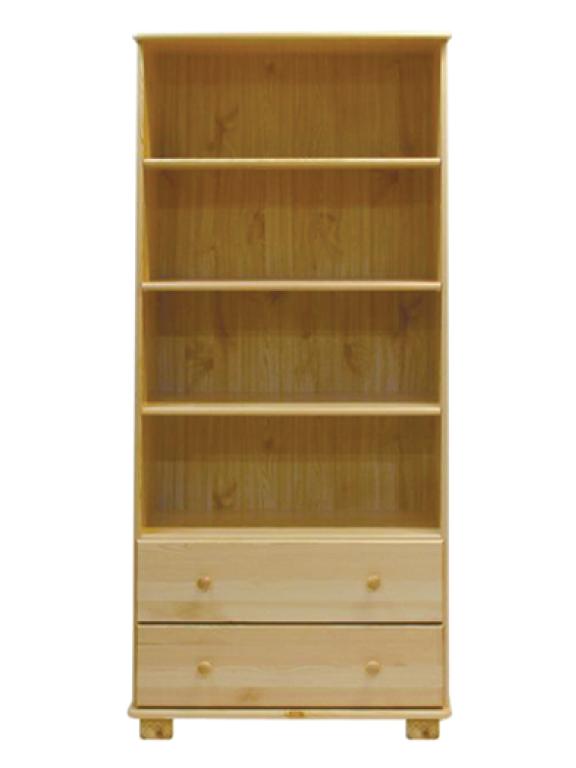 MAGNAT Knihovna nr.1, masiv borovice, moření: ...
