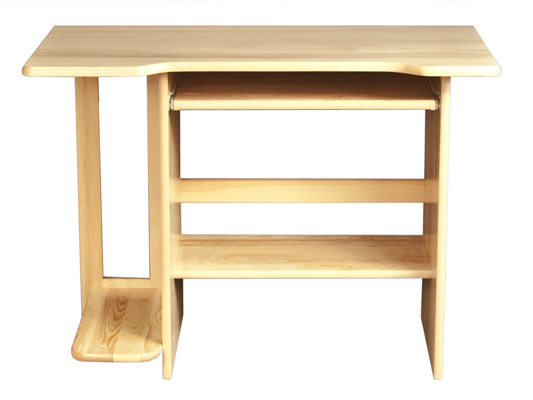 MAGNAT Dřevěný PC stůl ANTONIO, masiv borovice, moření: ...