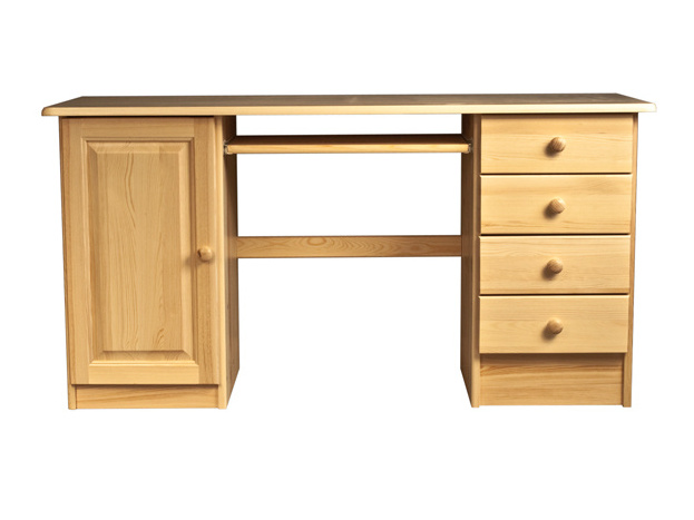 MAGNAT Dřevěný PC stůl CONRADO, masiv borovice, barva: ...