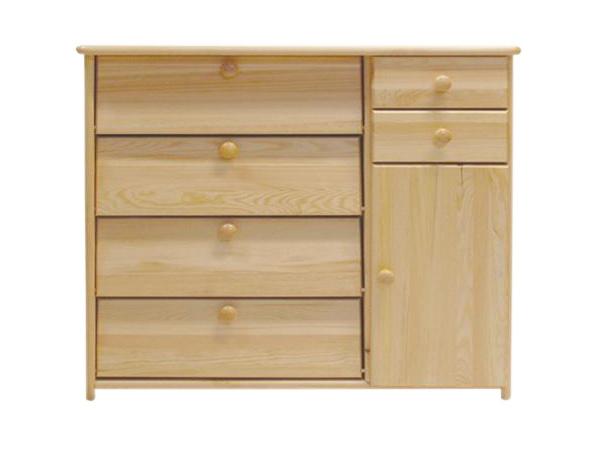 Dřevěný botník 90 x 40 x 80 cm