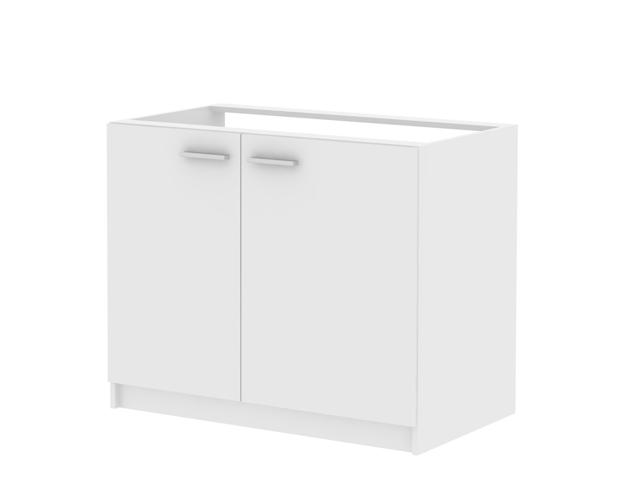MB Domus Skříňka dvoudveřová pod dřez SMART 22, bílá