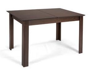 MATIS Jídelní stůl rozkládací STANDARD PLUS 120/153x80, wenge