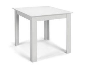 MATIS Jídelní stůl STANDARD 80x80, bílá