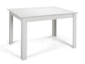 MATIS Jídelní stůl rozkládací STANDARD PLUS 120/153x80, bílá