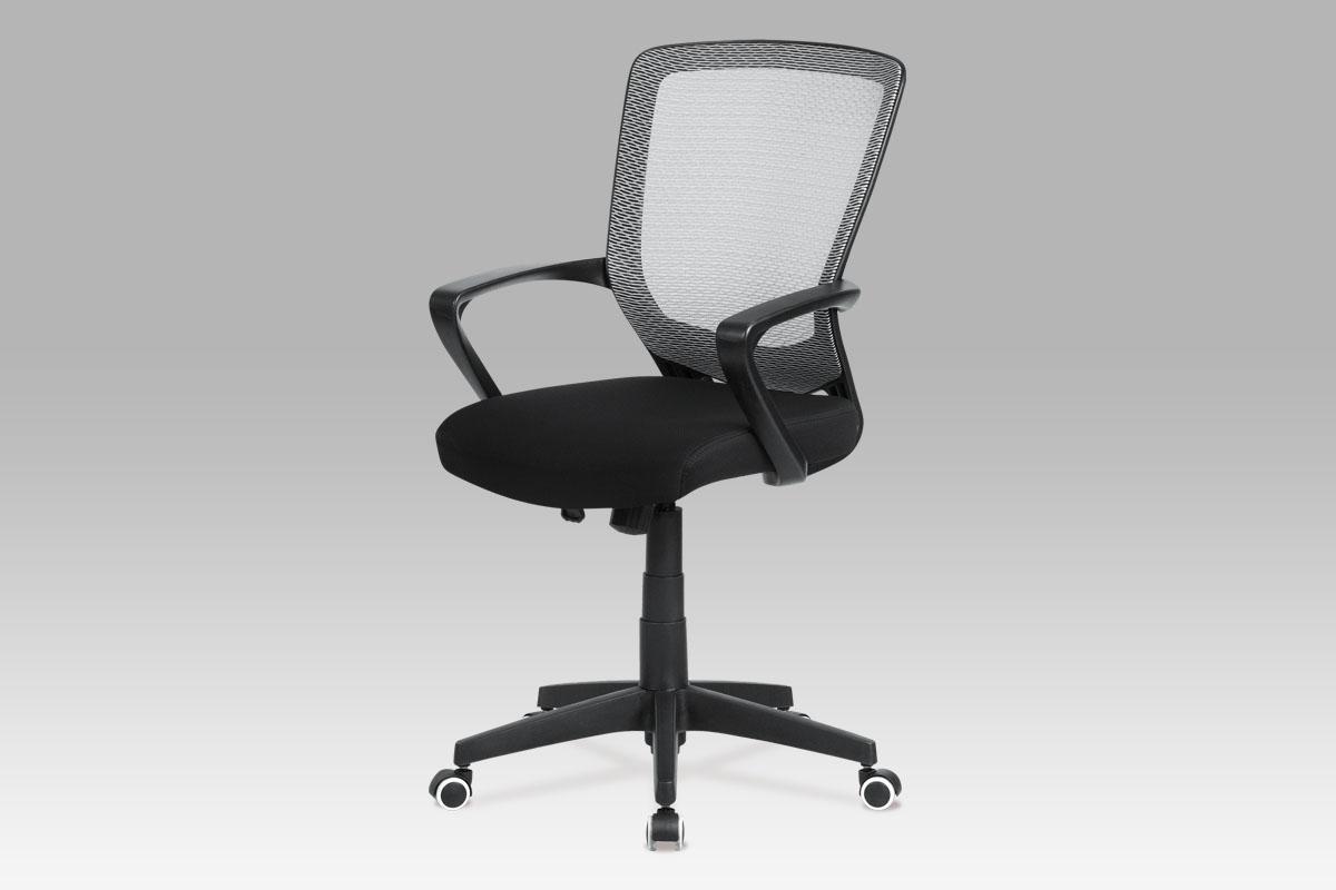 Autronic Kancelářská židle, šedá mesh/černá látka, KA-G108 BK