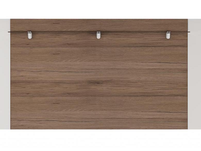 Extom TORONTO, panel TOP 06, alpská bílá/dub truflový