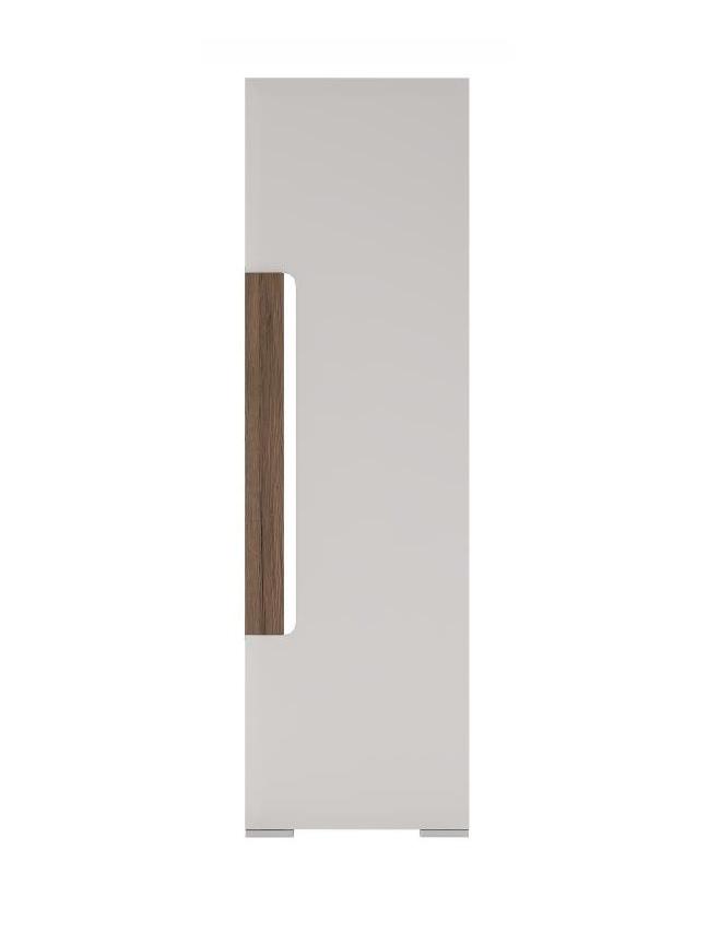 Extom TORONTO, skříň TOS 01, alpská bílá/dub truflový