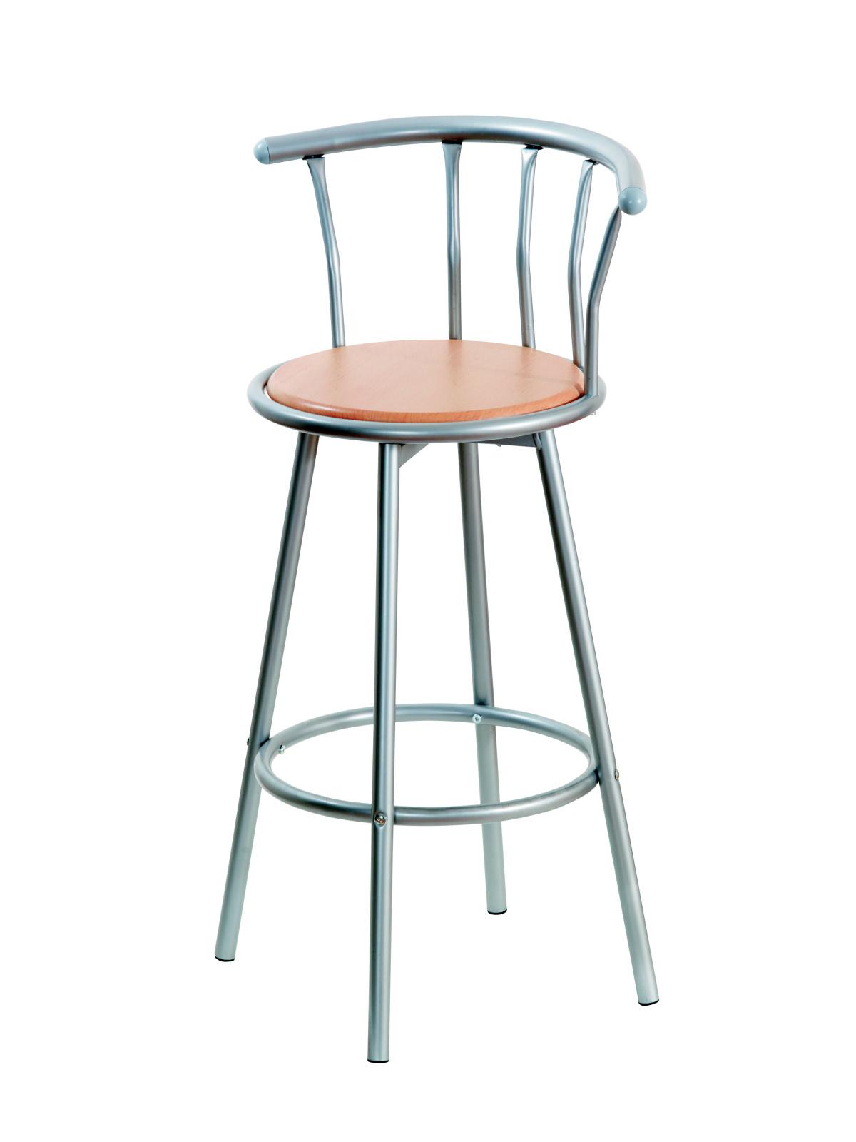 DEMEYERE GORO, barová židle, černá
