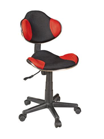 DEMEYERE AGRONAUT, dětská židle, černá/červená