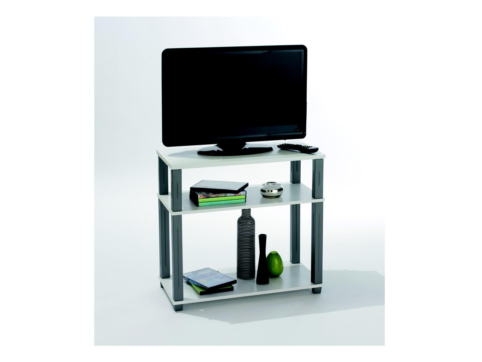 DEMEYERE POLITUB, TV stolek, bílá