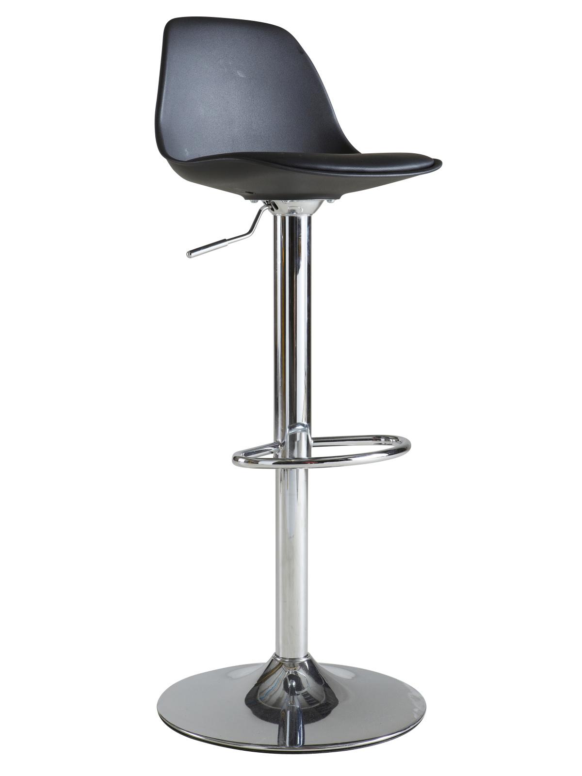 DEMEYERE KOKTAIL, barová židle, černá