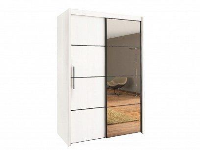ORFA MIX Skříň s posuvnými dveřmi INOVA 150, bílá
