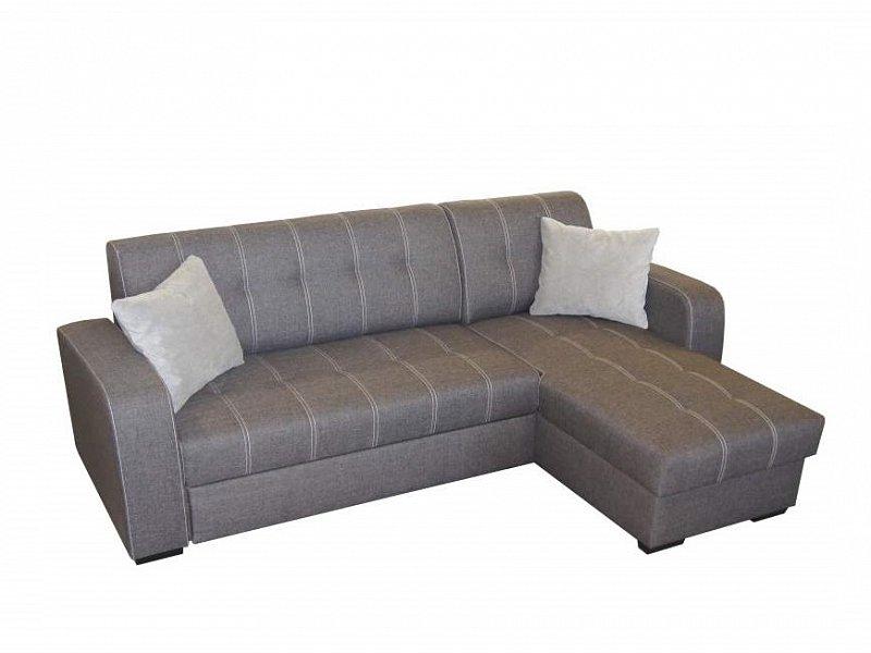 ORFA MIX Rohová sedačka TORINO, univerzální roh, šedá