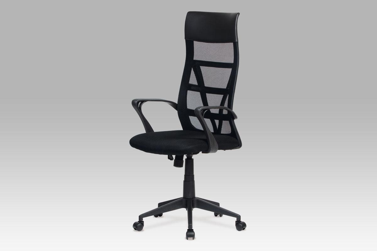 Autronic Kancelářská židle, mesh černá KA-N801 BK