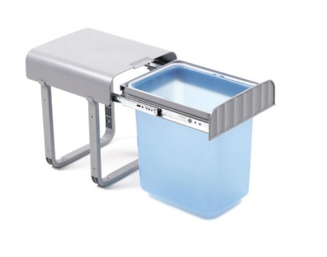Smartshop Odpadkový koš ALLADIN1, jednodílný