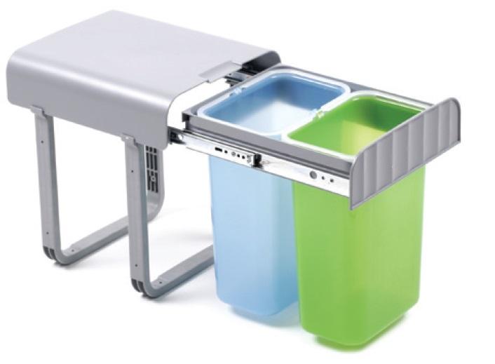 Smartshop Odpadkový koš ALLADIN2, dvojitý