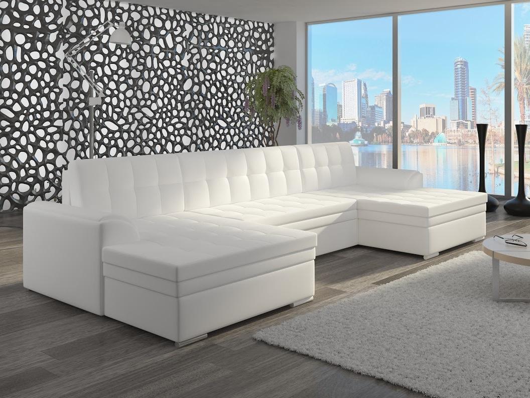 ELTAP Rohová sedačka VENTO 09, bílá