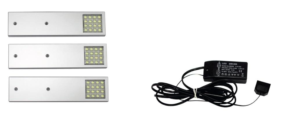 Smartshop TŘÍBODOVÁ souprava osvětlení LED – NEO, barva světla studená