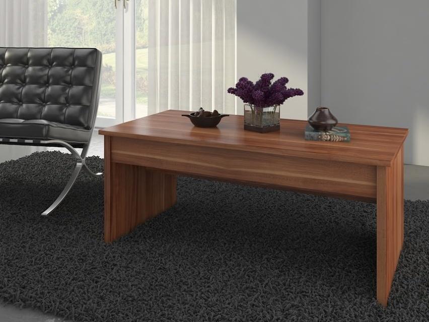 MORAVIA FLAT Konferenční stolek INDILA, švestka wallis
