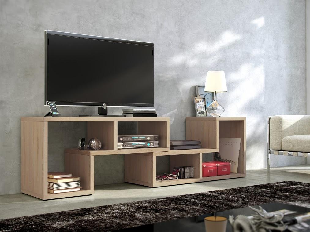 MORAVIA FLAT TV stolek TOP, dub sonoma