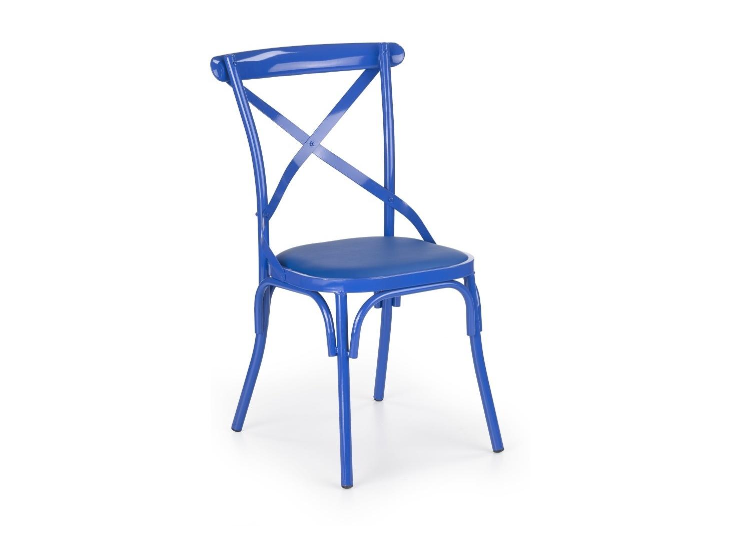 Halmar Židle K216, modrá