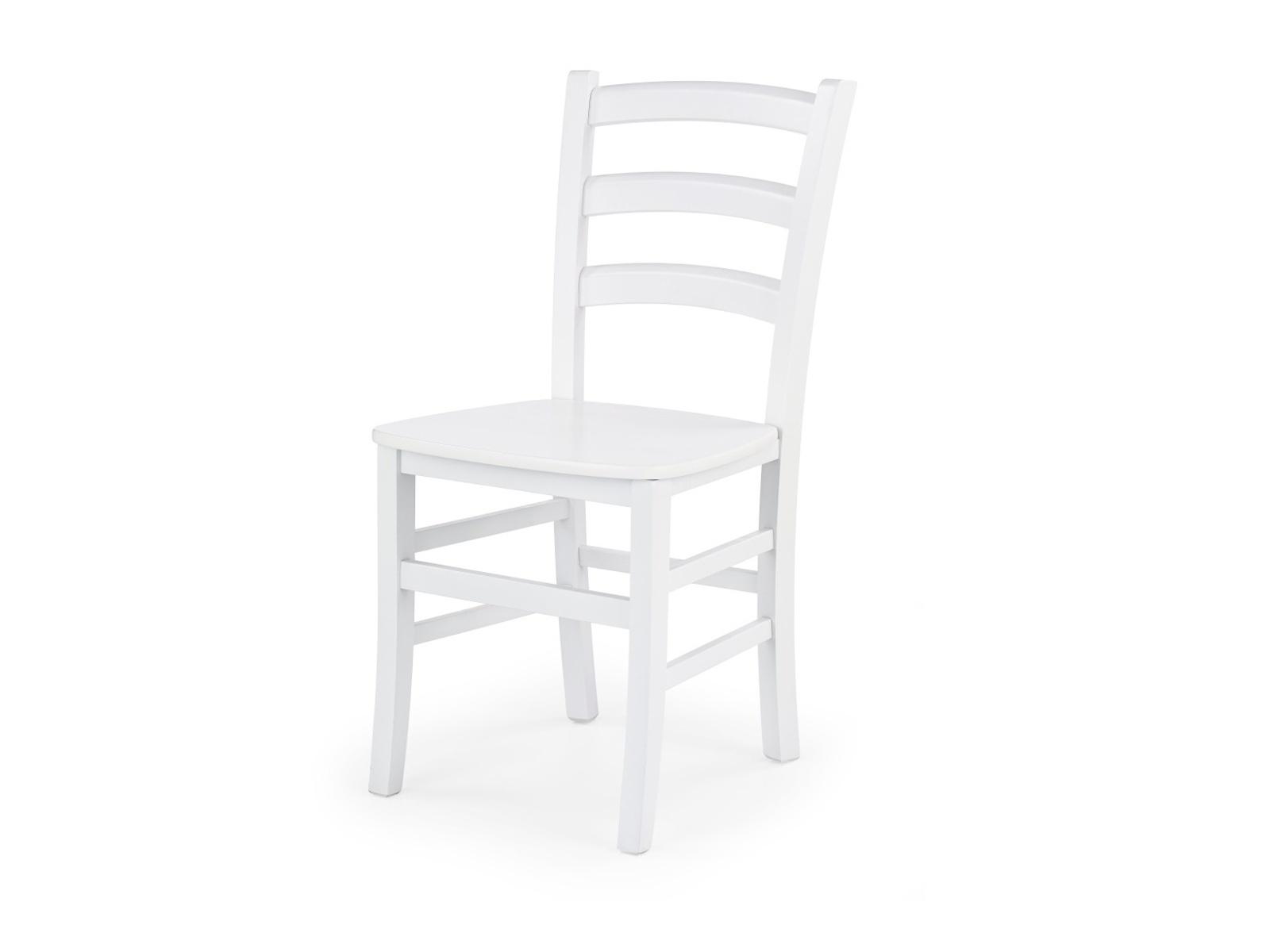 Halmar Jídelní židle RAFO, bílá