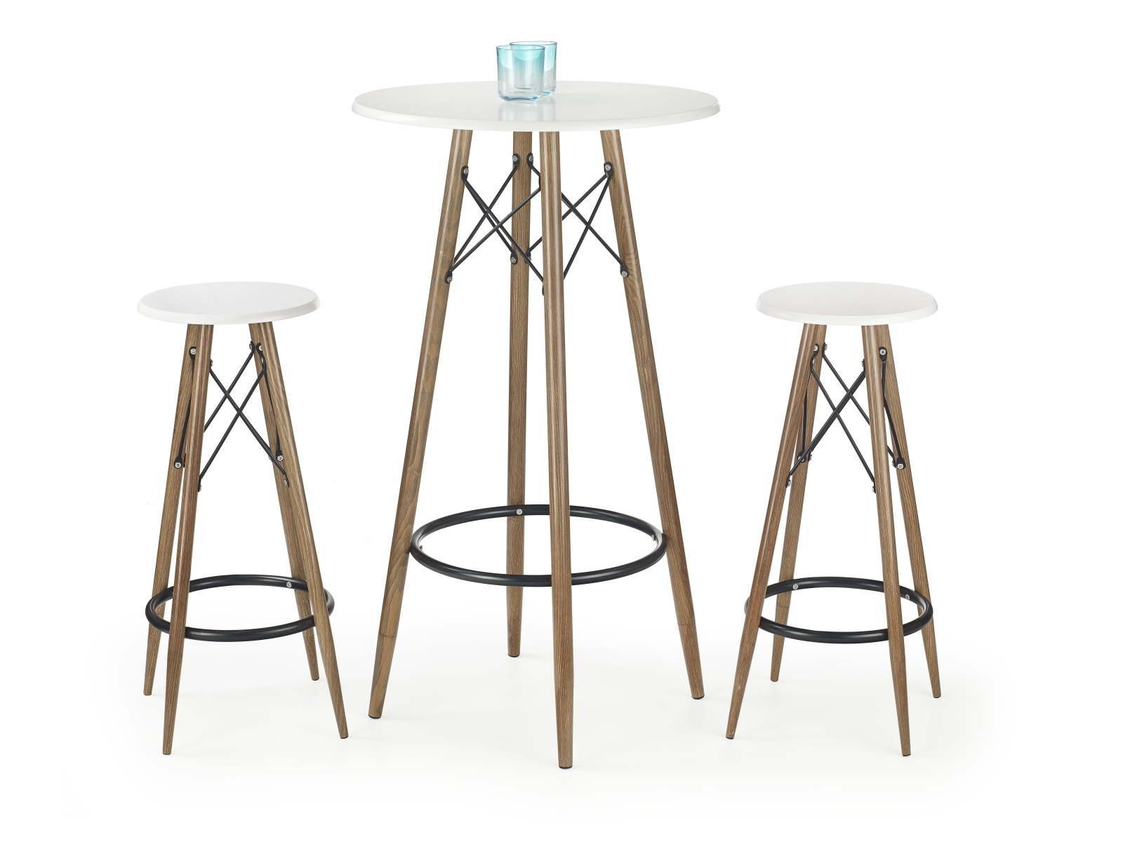 Halmar Barový stolek SB 10, bílá