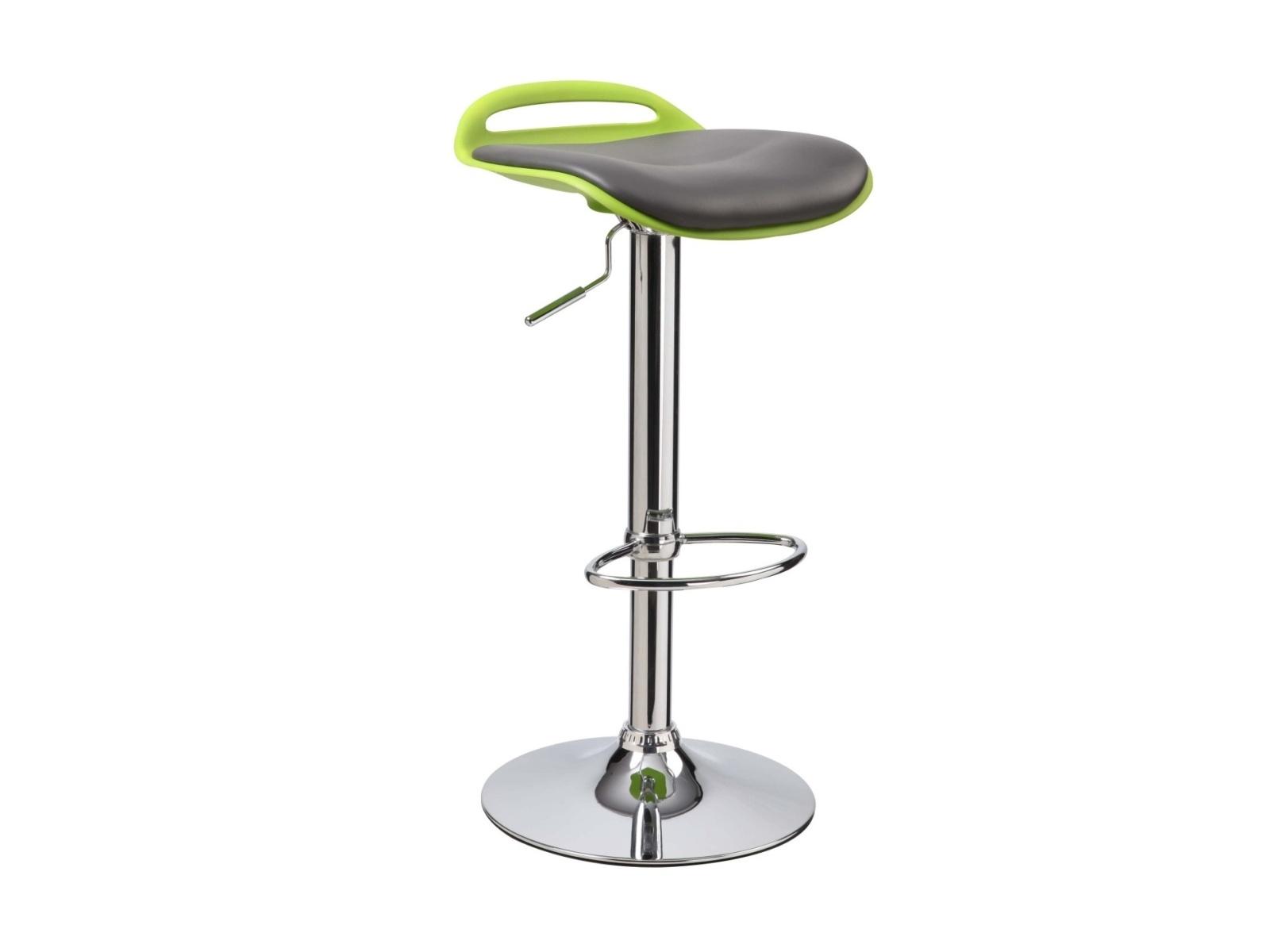Halmar Barová židle H-60, zelená/černá
