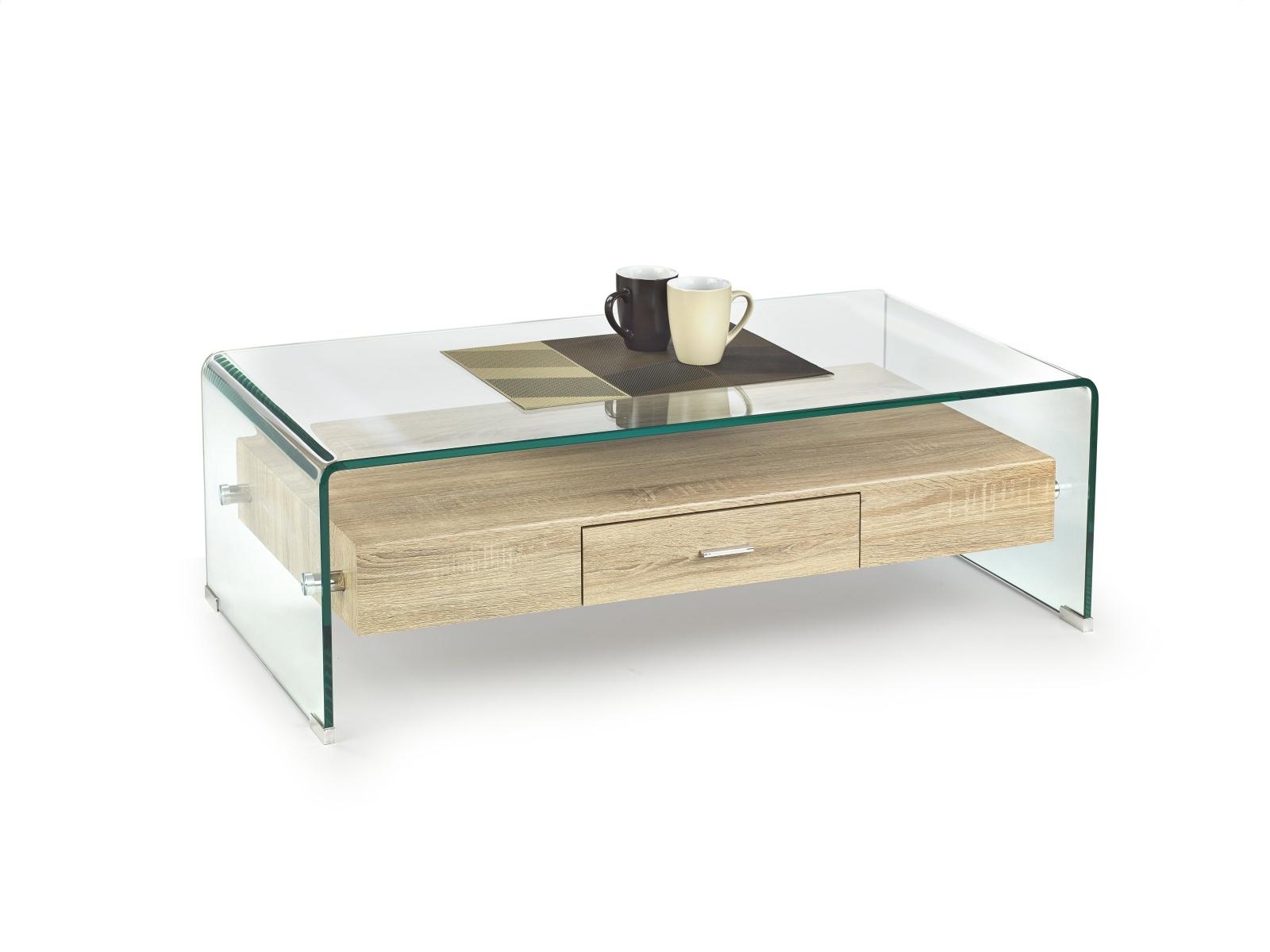 Halmar Konferenční stolek VANESSA, dub sonoma