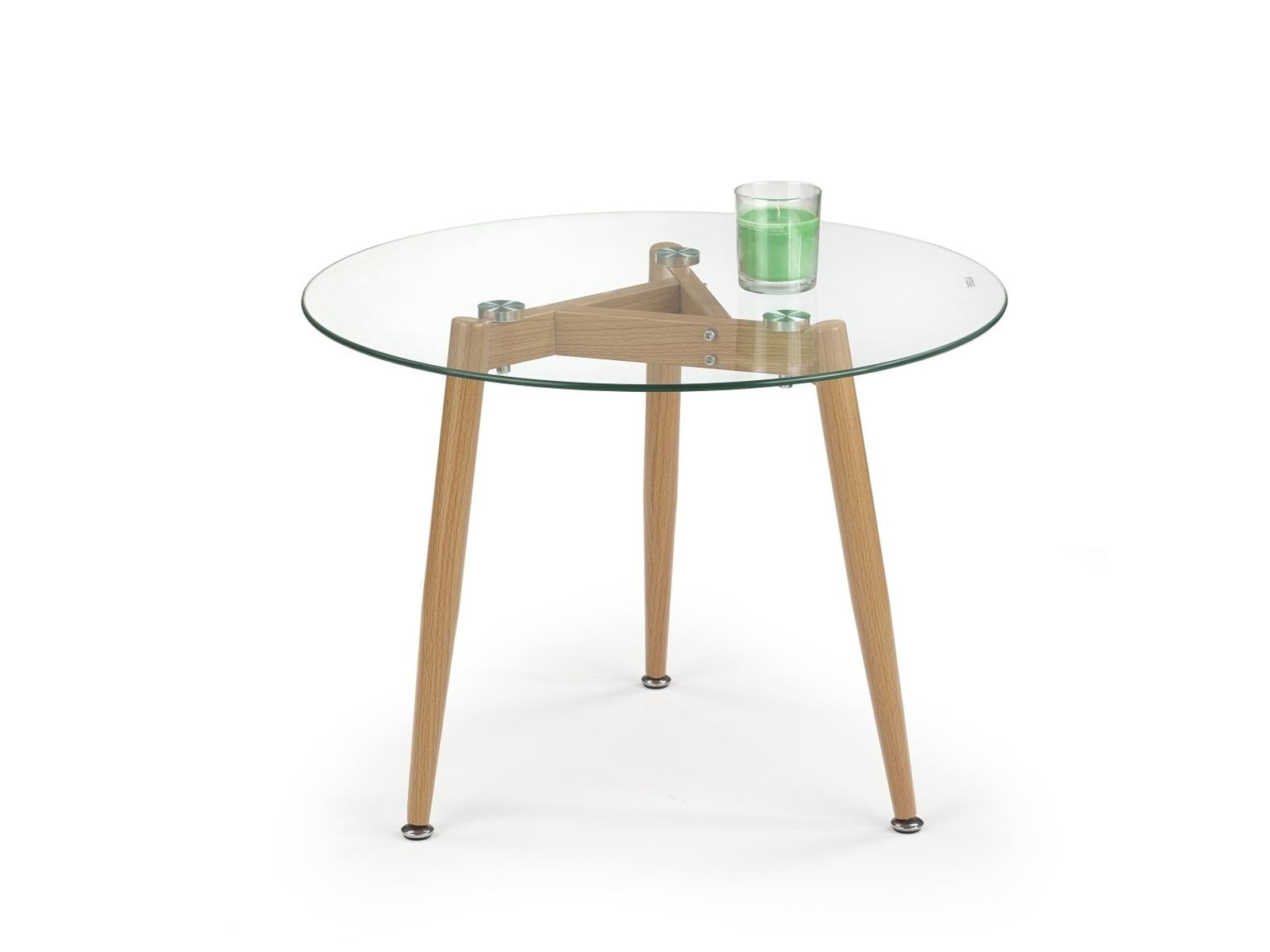 Halmar Konferenční stolek SPECTRA kulatý, olše