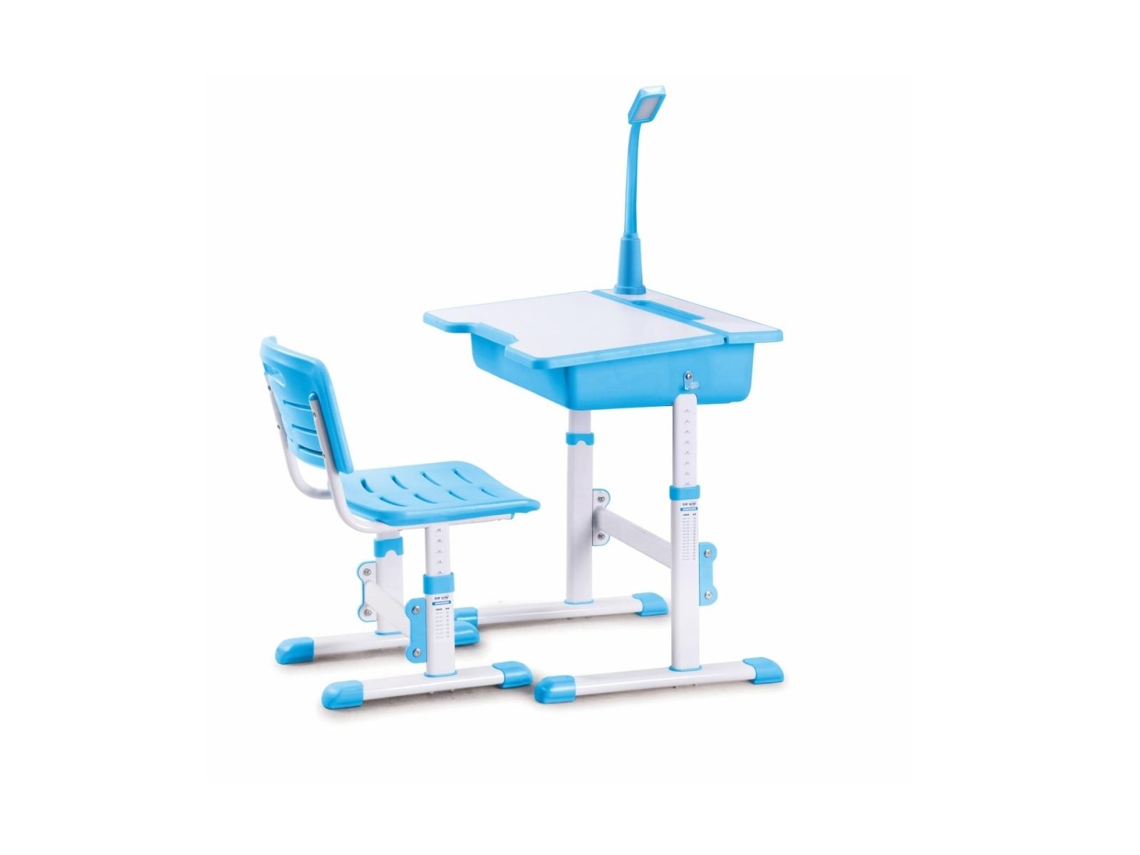 Halmar Dětský psací stůl a židle ASTRO 3, modrá