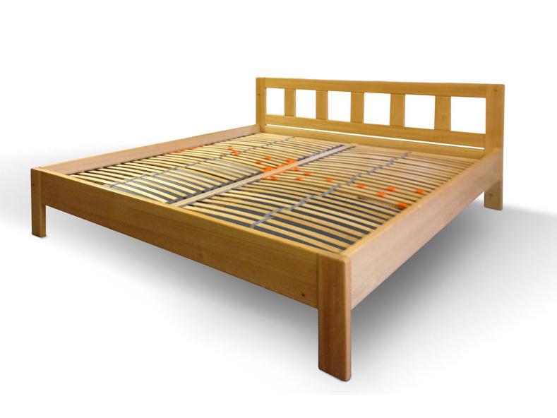 Truhlářství Frček ELIŠKA postel 180x200, masiv dub