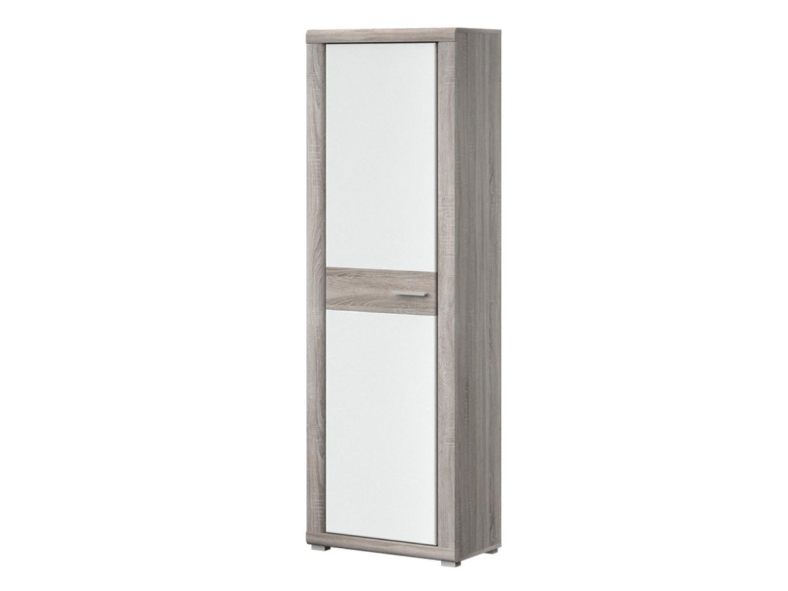 Decodom BELINGO typ 01 šatní skříň, dub bardolino/bílá