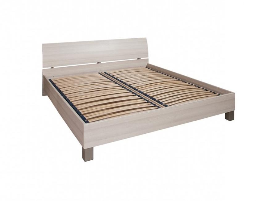 Decodom CASSONOVA typ 53-P-OH-160 postel s rošty a úložnými prostory, jasan coimbra