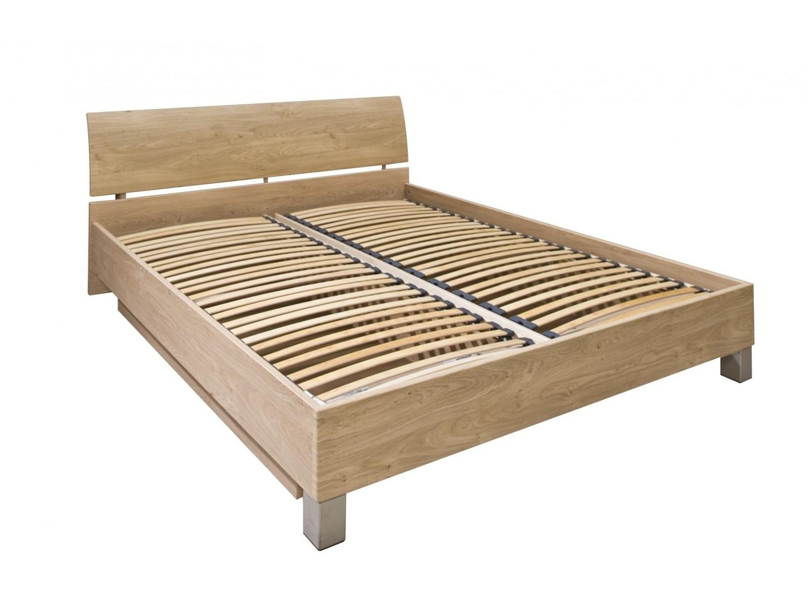 Decodom CASSONOVA typ 04-P-OH-180 postel s rošty a úložnými prostory, dub sukatý