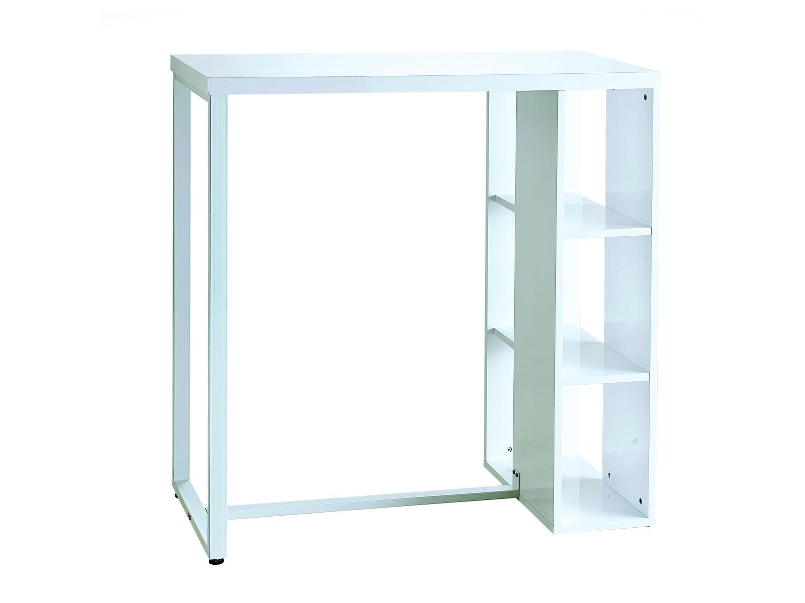 DEMEYERE TOEST barový stolek, bílá