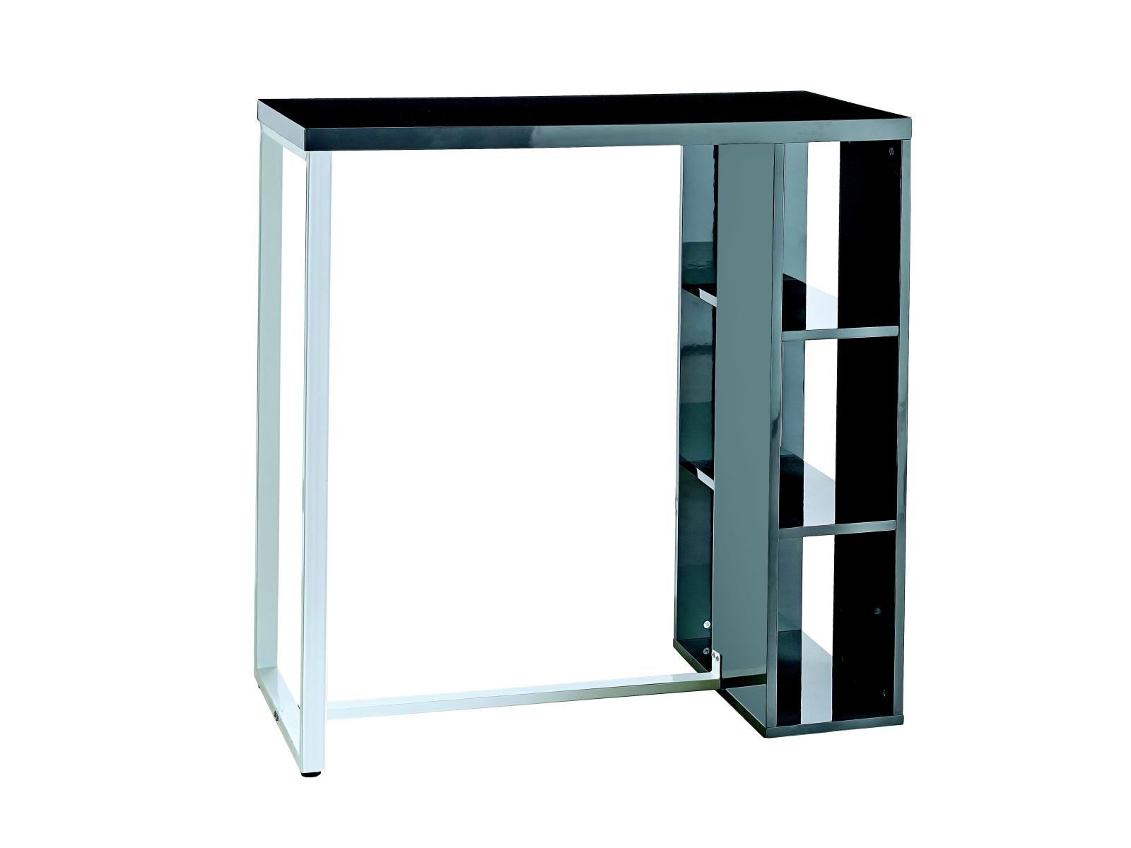 DEMEYERE TOEST barový stolek, šedá/bílá