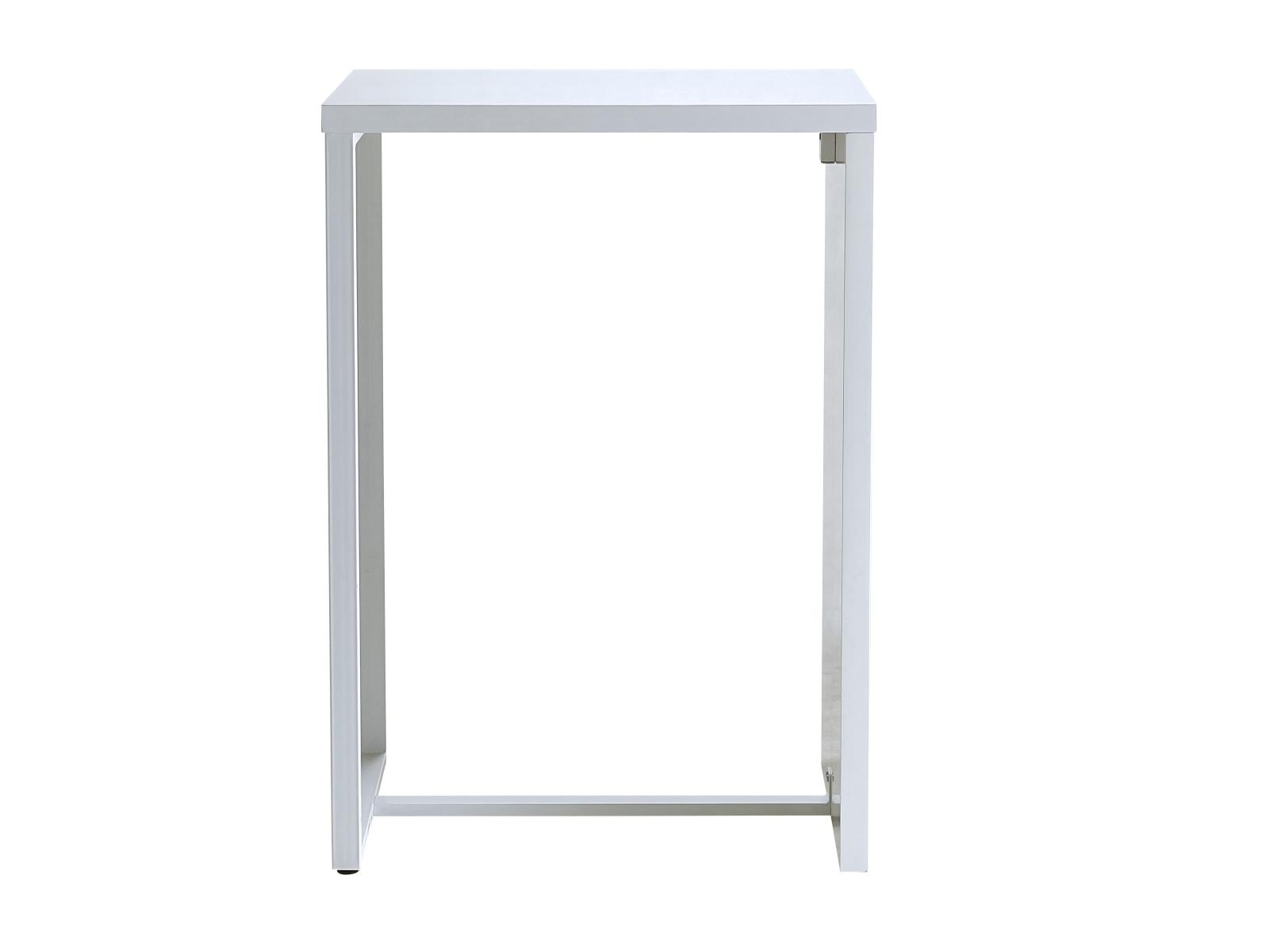 DEMEYERE SNAK barový stolek, bílá