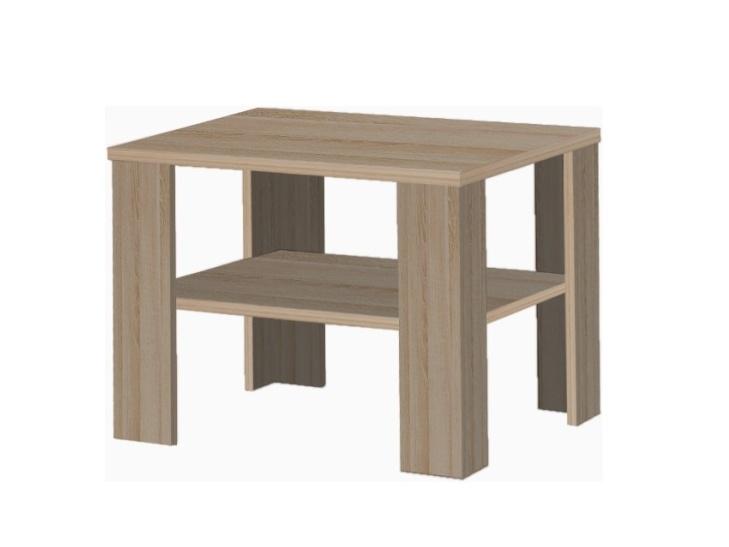 Tempo Kondela INTERSYS konferenční stolek, dub sonoma tmavý truflový