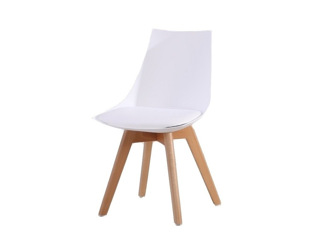 Smartshop DELIS jídelní židle, bílá
