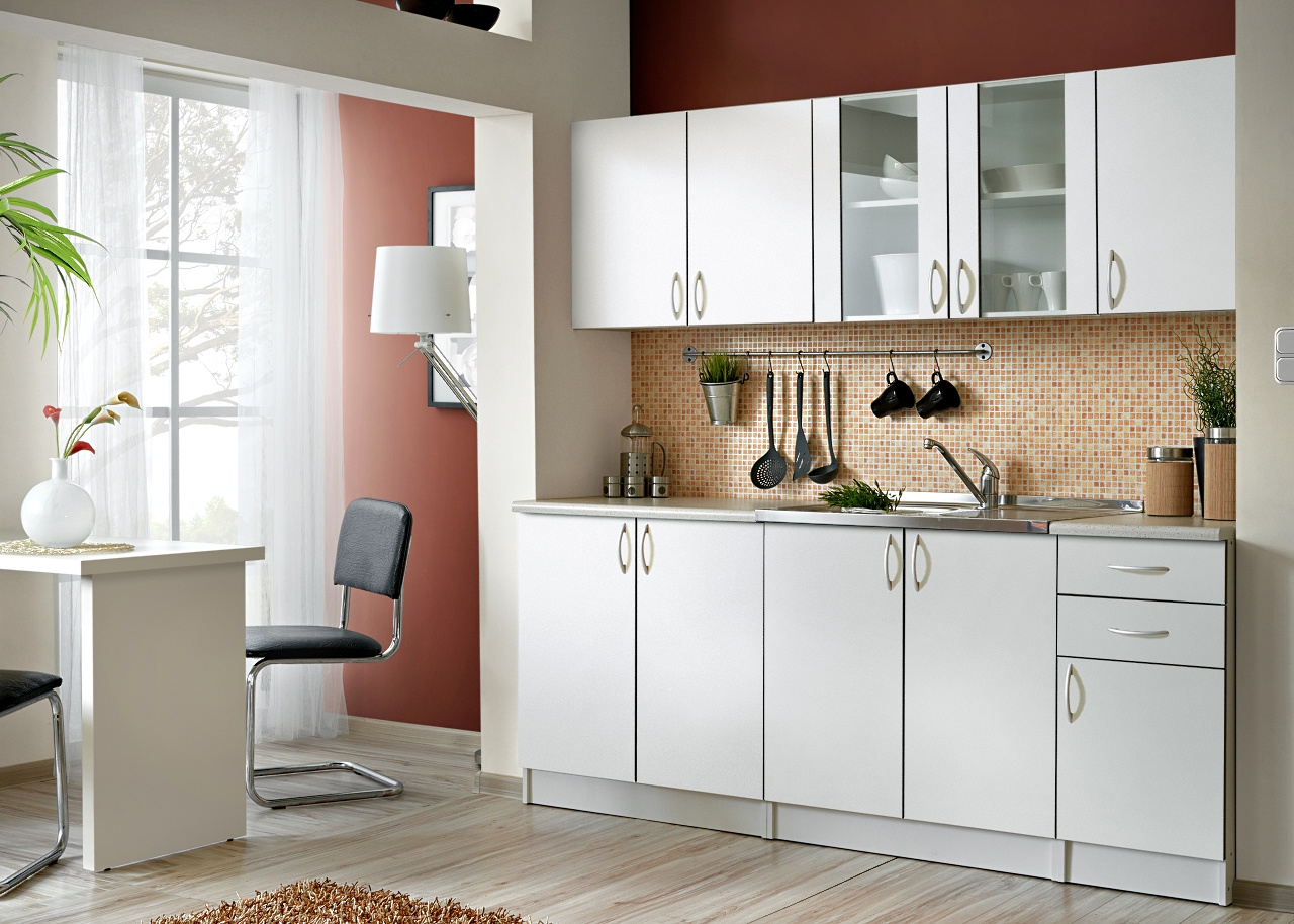 Smartshop Kuchyně JOLANA II 200 cm, bílá