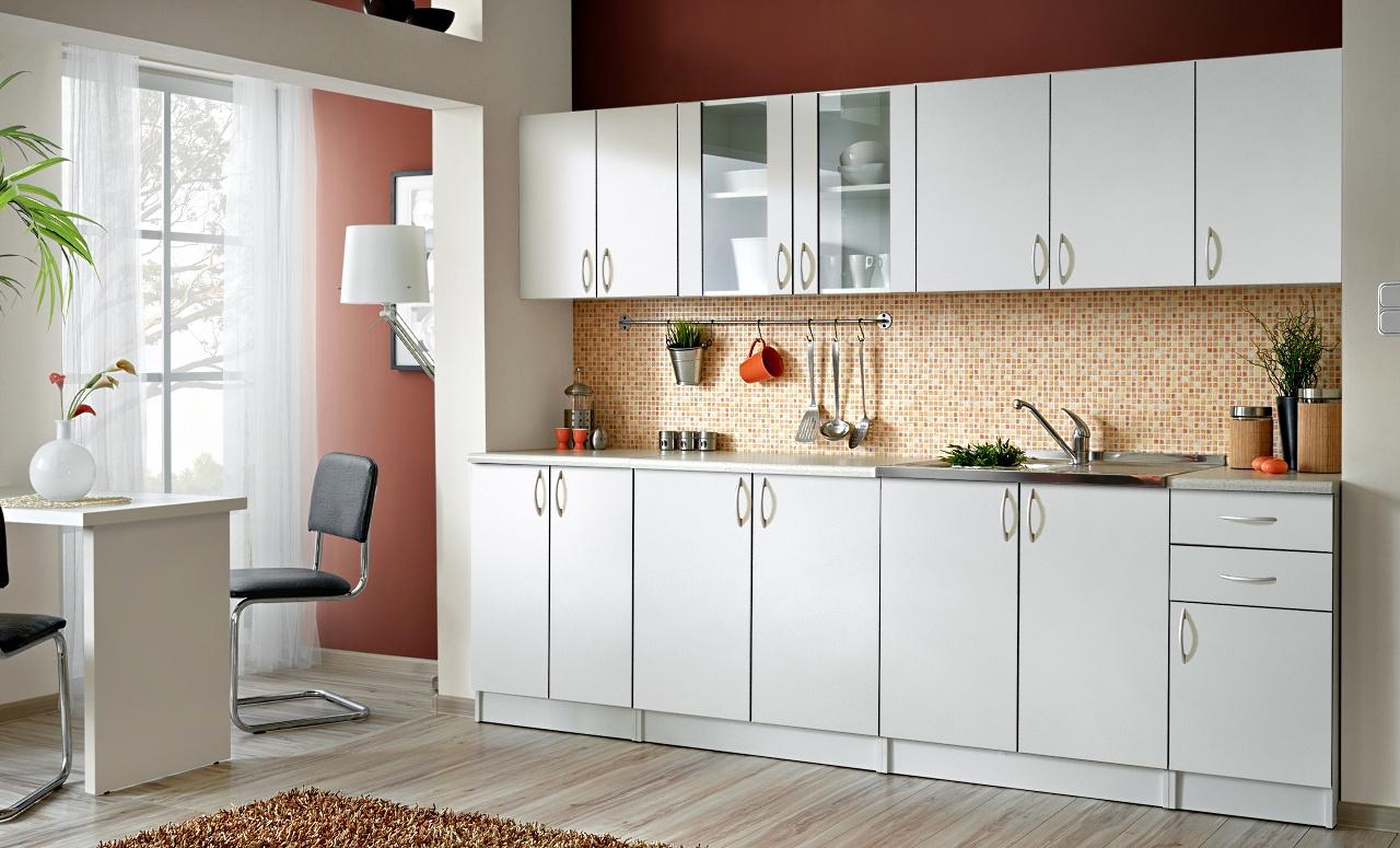 Smartshop Kuchyně JOLANA II 260 cm, bílá
