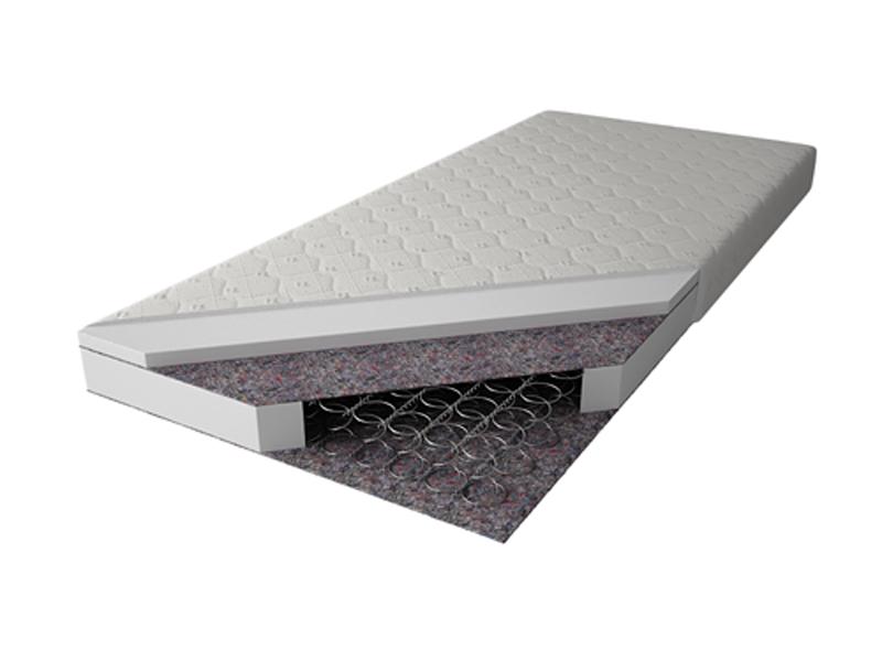 MAGNAT Pružinová matrace MAGNA 90x200 cm, potah jersey neprošívaný