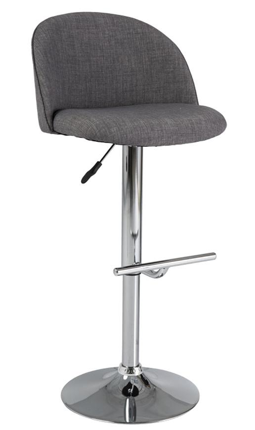 Smartshop Barová židle C-885, šedá