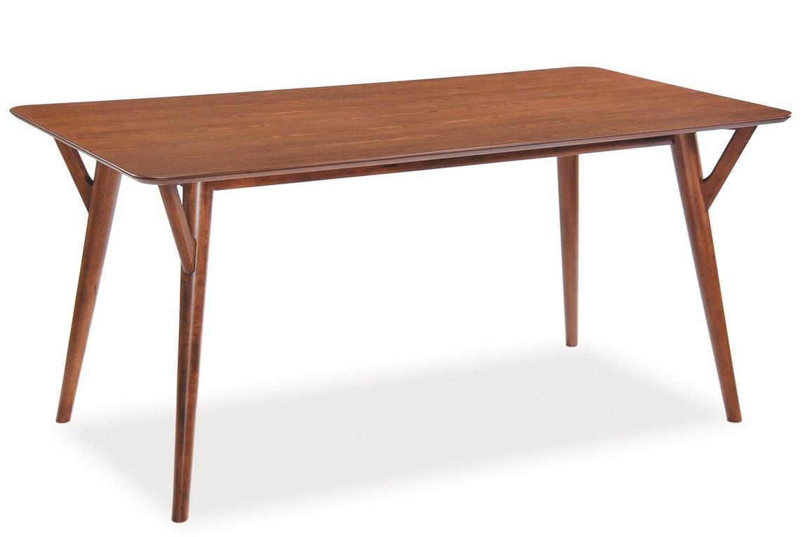 Smartshop Jídelní stůl ALESSIO 90x160 cm, ořech