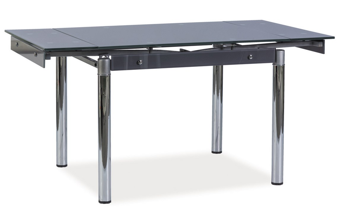 Smartshop Jídelní stůl GD-093 rozkládací, šedá
