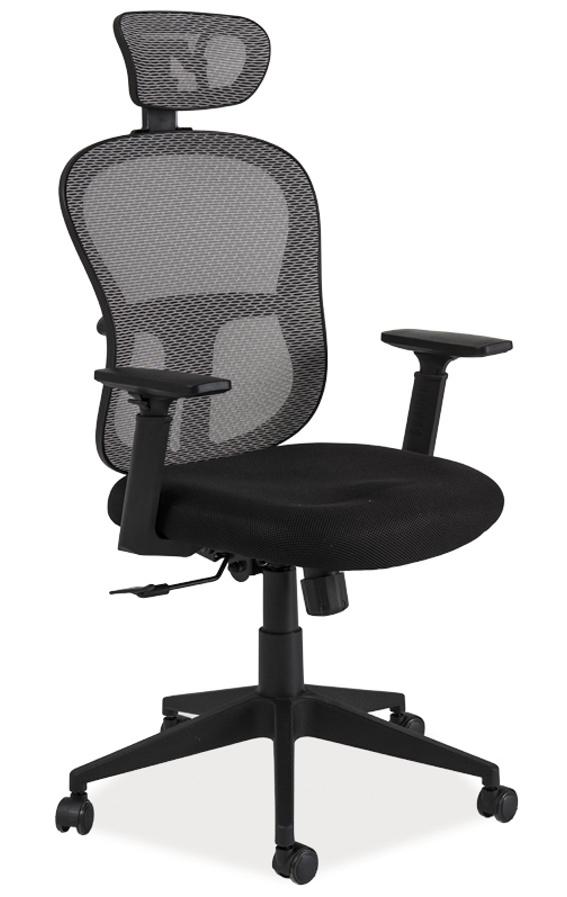 Smartshop Kancelářské křeslo Q-116 černá/šedá