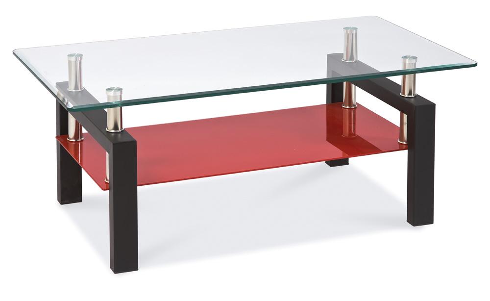 Smartshop Konferenční stolek LISA II, černo-červený